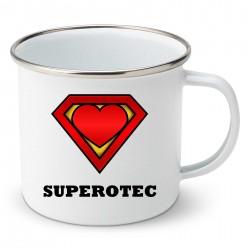 Smaltovaný hrnček Superotec
