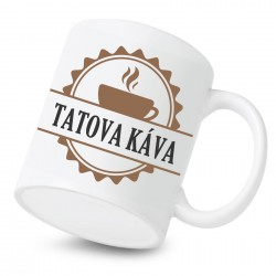 Keramický hrnček Tatova káva