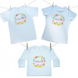 Rodinná sada (tričko s dlhým rukávom) Rodinná sada Veselú Veľkú noc