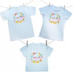 Rodinná sada (tričko s krátkym rukávom) Rodinná sada Veselú Veľkú noc