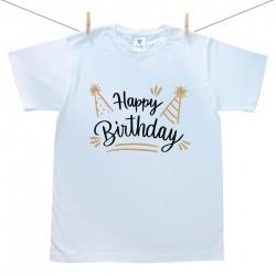 Pánske tričko s krátkym rukávom Happy birthday