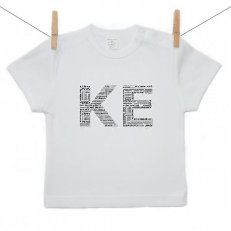 Tričko s krátkym rukávom KE (Košice)