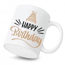 Keramický hrnček Happy birthday