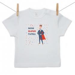 Tričko s krátkym rukávom Mám super tatka
