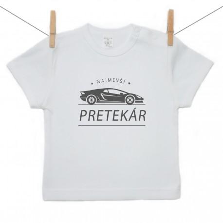 Tričko s krátkym rukávom Najmenší pretekár