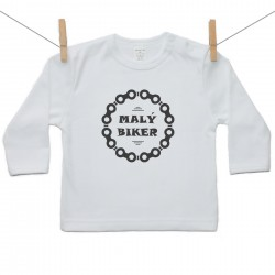 Tričko s dlhým rukávom Malý biker