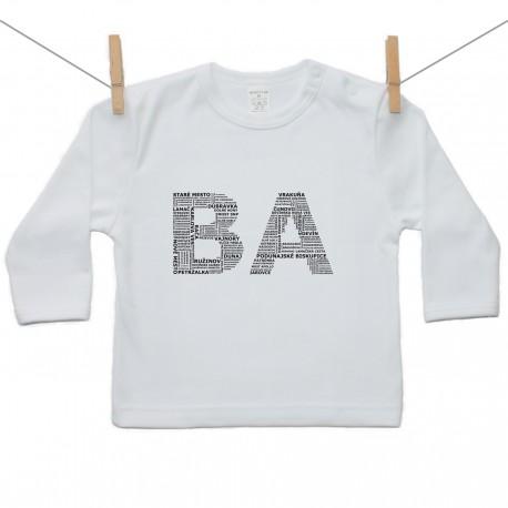 Tričko s dlhým rukávom BA (Bratislava)