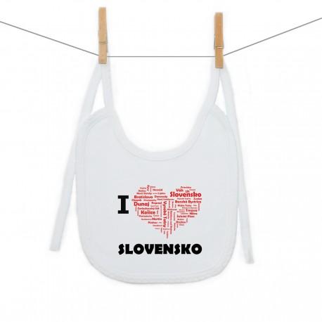Podbradník na zaväzovanie I love Slovensko