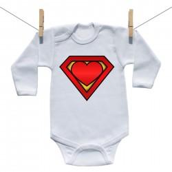 Body s dlhým rukávom Super baby