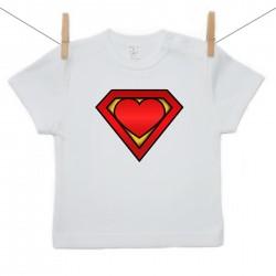 Tričko s krátkym rukávom Super baby