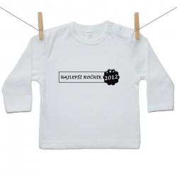 Tričko s dlhým rukávom Najlepší ročník 2012