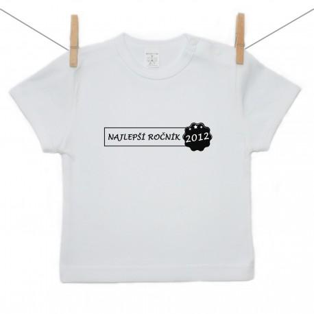 Tričko s krátkym rukávom Najlepší ročník 2012