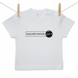 Tričko s krátkym rukávom Najlepší ročník 2011