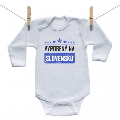 Body s dlhým rukávom Vyrobený na Slovensku