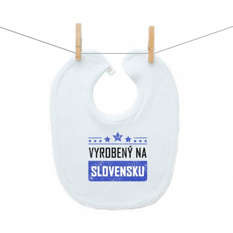 Podbradník na zapínanie Vyrobený na Slovensku