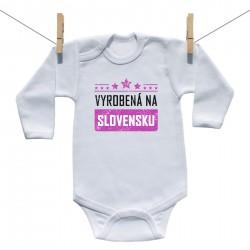 Body s dlhým rukávom Vyrobená na Slovensku