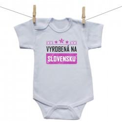 Body s krátkym rukávom Vyrobená na Slovensku