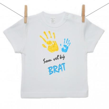 Tričko s krátkym rukávom Som veľkú brat