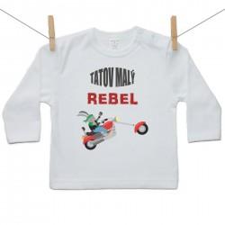 Tričko s dlhým rukávom Tatov malý rebel