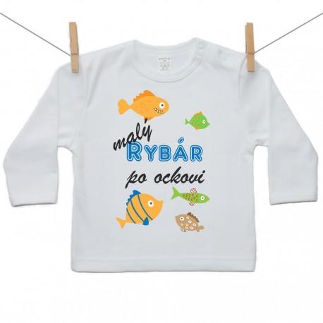 Tričko s dlhým rukávom Malý rybár