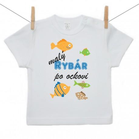 Tričko s krátkym rukávom Malý rybár