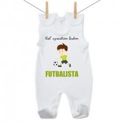 Dupačky Keď vyrastiem budem futbalista