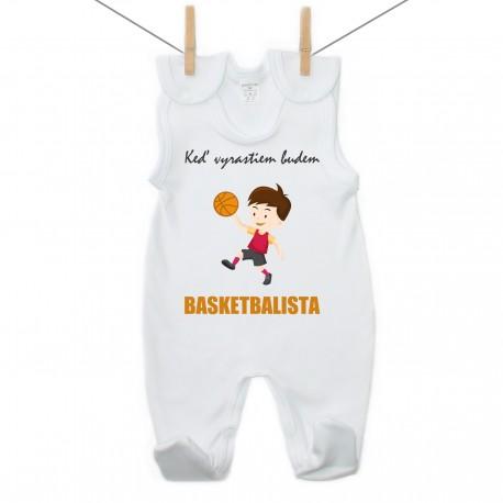 Dupačky Keď vyrastiem budem basketbalista