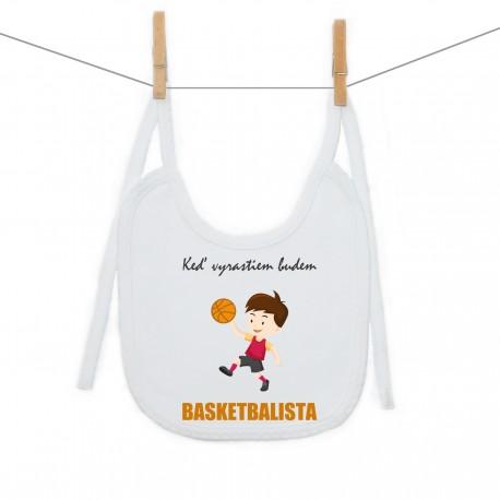 Podbradník na zaväzovanie Keď vyrastiem budem basketbalista