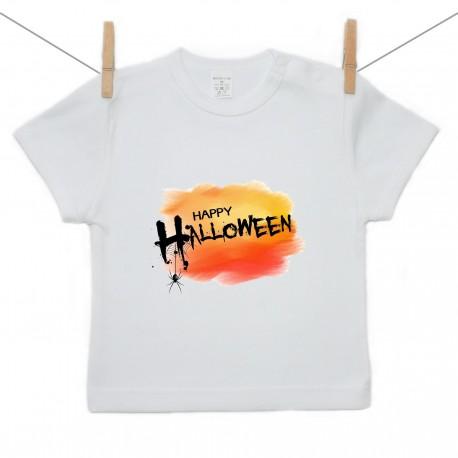 Tričko s krátkym rukávom Happy Halloween