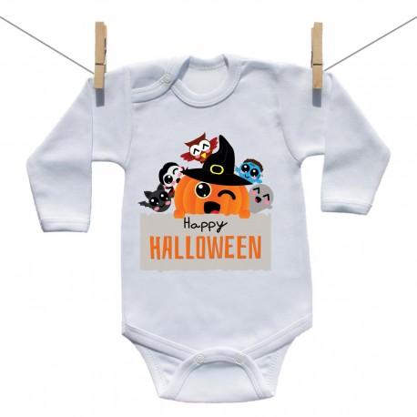 Body s dlhým rukávom Happy Halloween