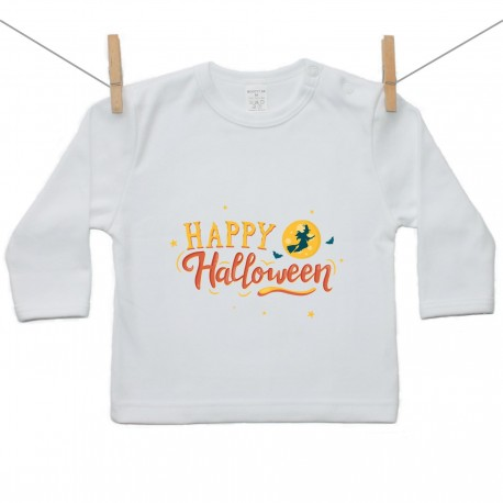 Tričko s dlhým rukávom Happy Halloween
