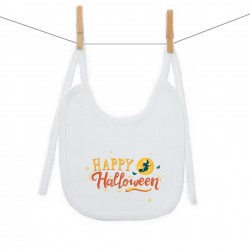 Podbradník na zaväzovanie Happy Halloween
