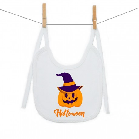 Podbradník na zaväzovanie Halloween tekvica