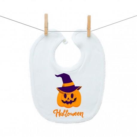 Podbradník na zapínanie Halloween tekvica