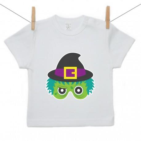 Tričko s krátkym rukávom Halloween maska