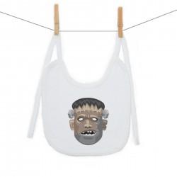 Podbradník na zaväzovanie Halloween maska Frankenstein