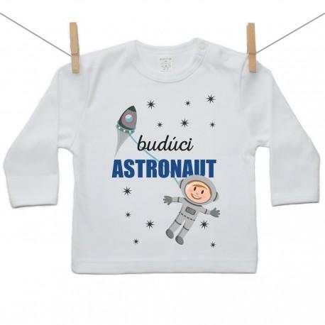 Tričko s dlhým rukávom Budúci astronaut