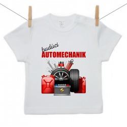 Tričko s krátkym rukávom Budúci automechanik