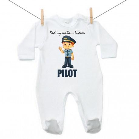 Overal Keď vyrastiem budem pilot