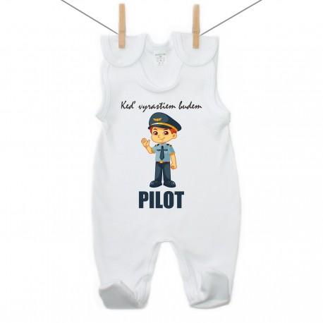 Dupačky Keď vyrastiem budem pilot