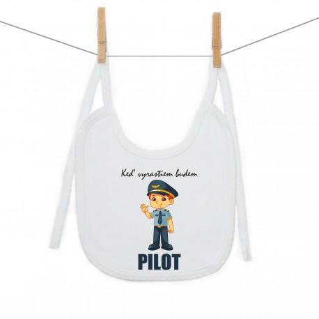Podbradník na zaväzovanie Keď vyrastiem budem pilot