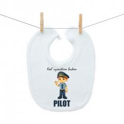 Podbradník na zapínanie Keď vyrastiem budem pilot