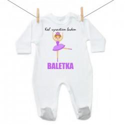 Overal Keď vyrastiem budem baletka