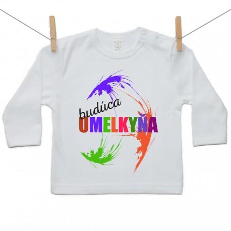 Tričko s dlhým rukávom Budúca umelkyňa
