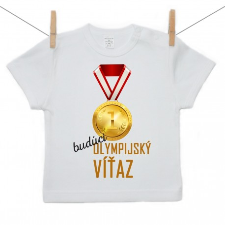 Tričko s krátkym rukávom Budúci olympijský víťaz