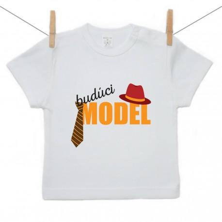 Tričko s krátkym rukávom Budúci model