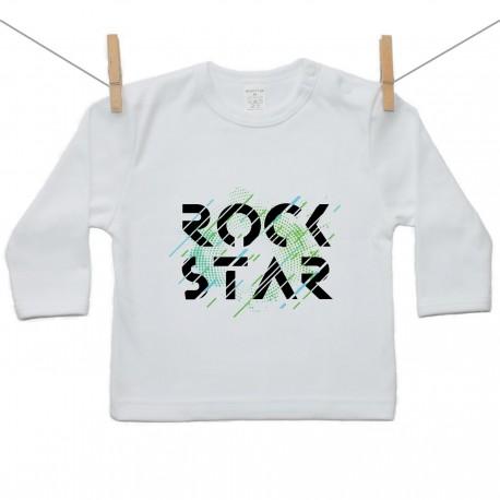 Tričko s dlhým rukávom Rock star