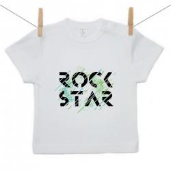 Tričko s krátkym rukávom Rock star