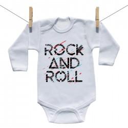 Body s dlhým rukávom Rock and roll