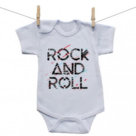 Body s krátkym rukávom Rock and roll